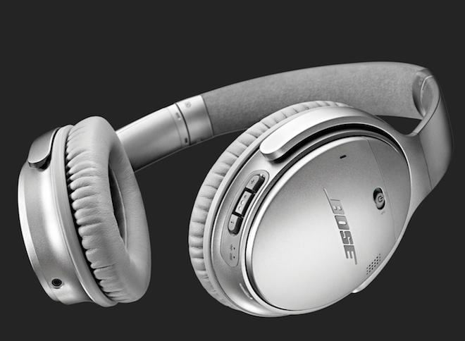 Bose headphones.
